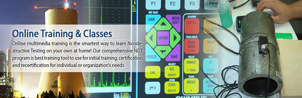 NDT Testing Training Courses & Classes - NDT Services | NDT